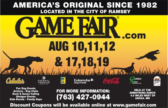 Game Fair 2012 Ad
