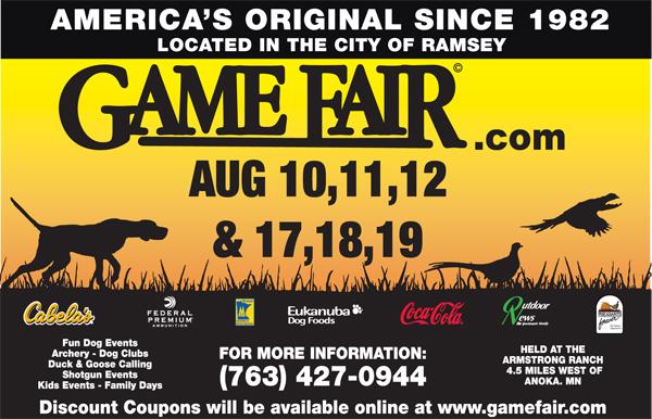 Game Fair 2012 Ad