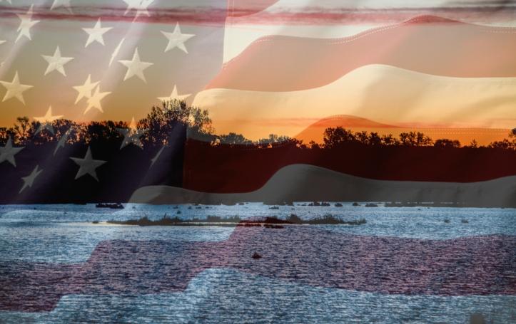 52513 - sunrise flag