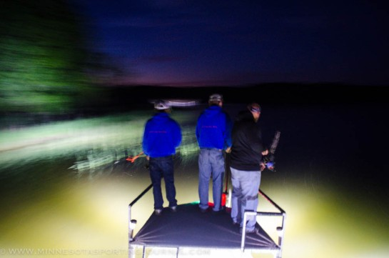 Night bowfishing
