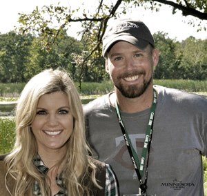 Laura Schara and Bret Amundson at last year's Game Fair