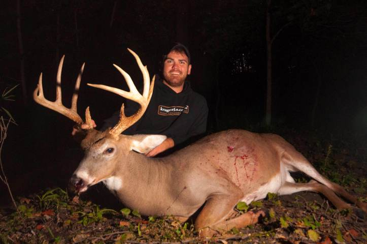 Ben Brettingen and his P&Y Whitetail from Minnesota