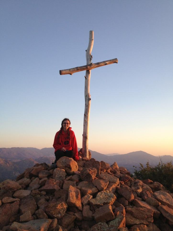 Kaylee on Mountain Top
