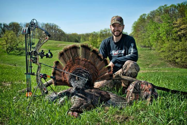 Rick Brule from Vapor Trail and his last minute WI bird!
