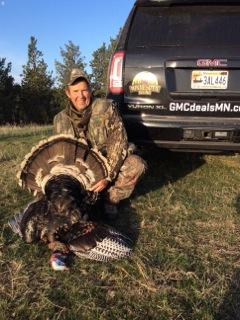 Ron Schara and his South Dakota Merriam.