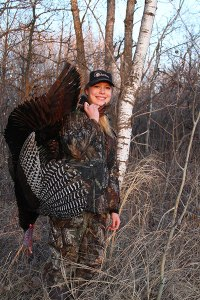Cory Loeffler (www.drccalls.com) got his cousin Rylie on this bird on opening day!