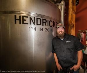 Jason Markkula in the Bank Brewing Brewery
