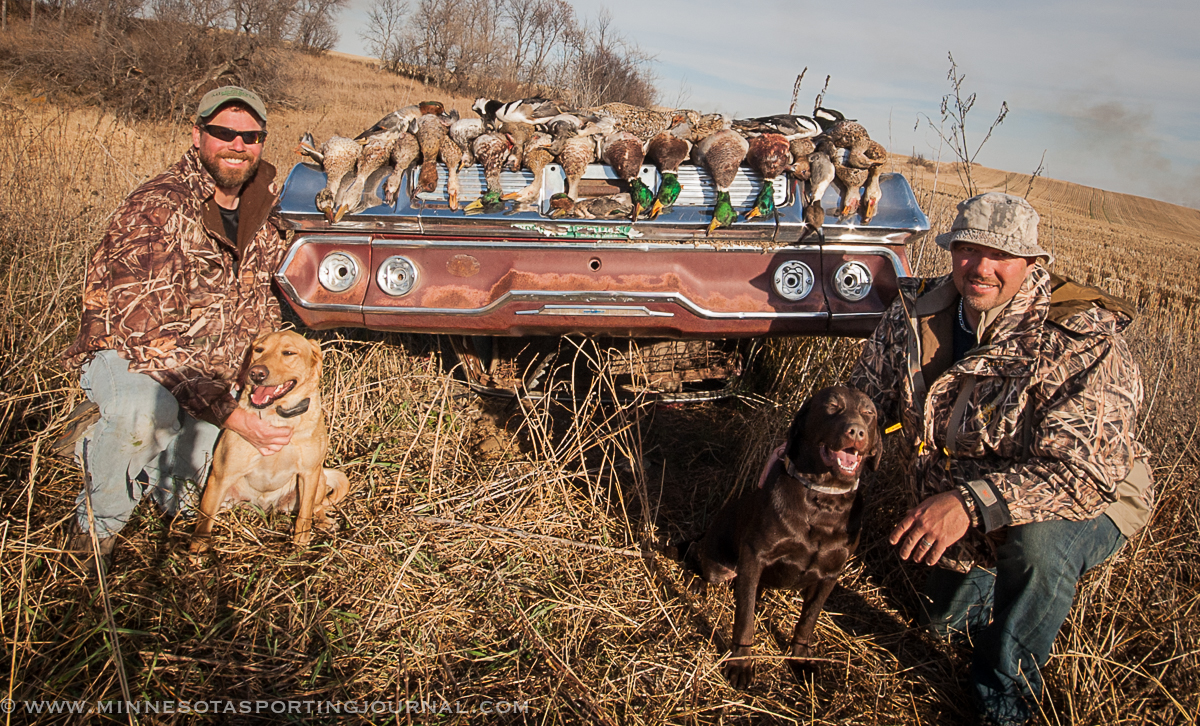how to prepare a duck after hunting