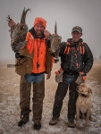 Bret Amundson and Ringneck Retreat owner Darik Tschetter