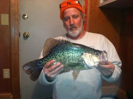 Check out this hugecrappie!