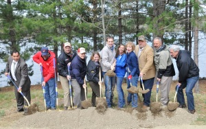 Lake Vermilion State Park Campground groundbreaking