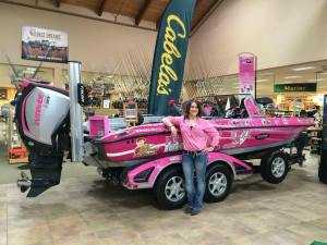 Stefanie Hurt and a Pink Boat For Hope