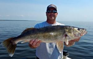 Big walleye, Ballards Resort, May_2015