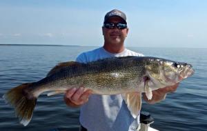 Big walleye, Ballards Resort, May_2015