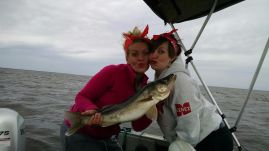 rachel and des walleye summer 2015 girls gone fishing tournament (2)
