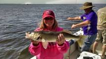 Tracy_Sportsman's Lodge_walleye on charter_May_2015