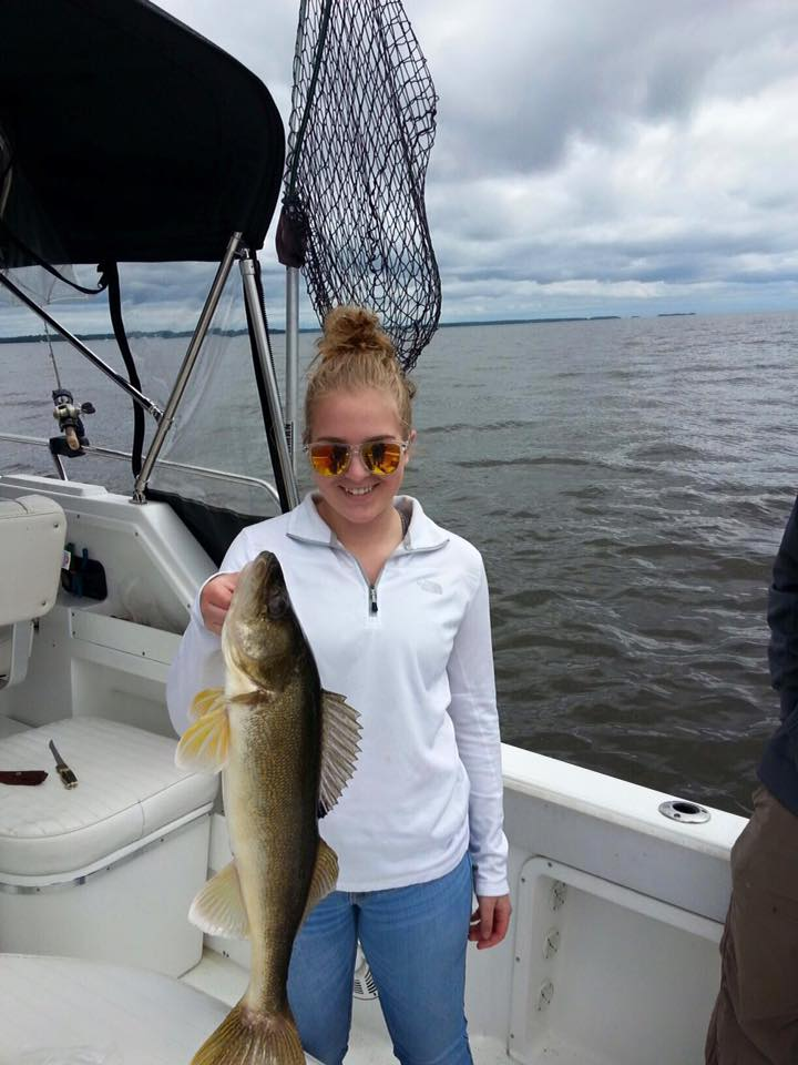 Lake of the woods fishing report sporting journal radio for Rainy river fishing report