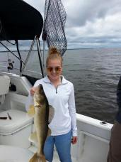 Ballards, big walleye