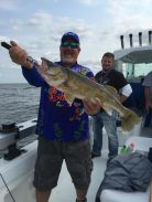 Steve C Lake of the Woods MN walleye charter summer 2015 pay it forward event