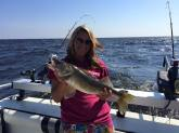 mariah zippel walleye charter summer 2015