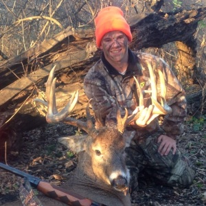 Zach Jacobson, age 17, shot this beauty in Blue Earth County on November 8th with his shotgun